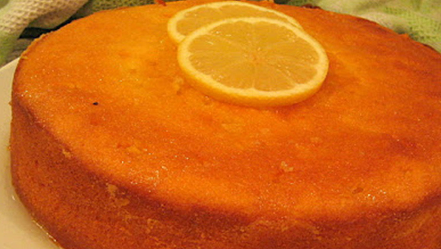 Syrup Cake No Eggs