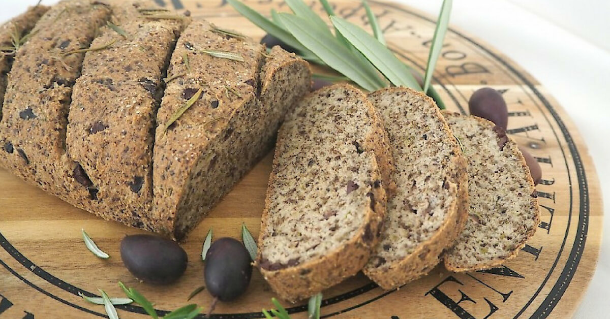 rosemary and olive loaf