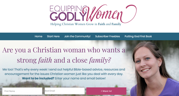 equipping godly women