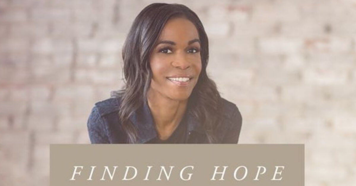 Michelle Williams devotional called Finding Hope