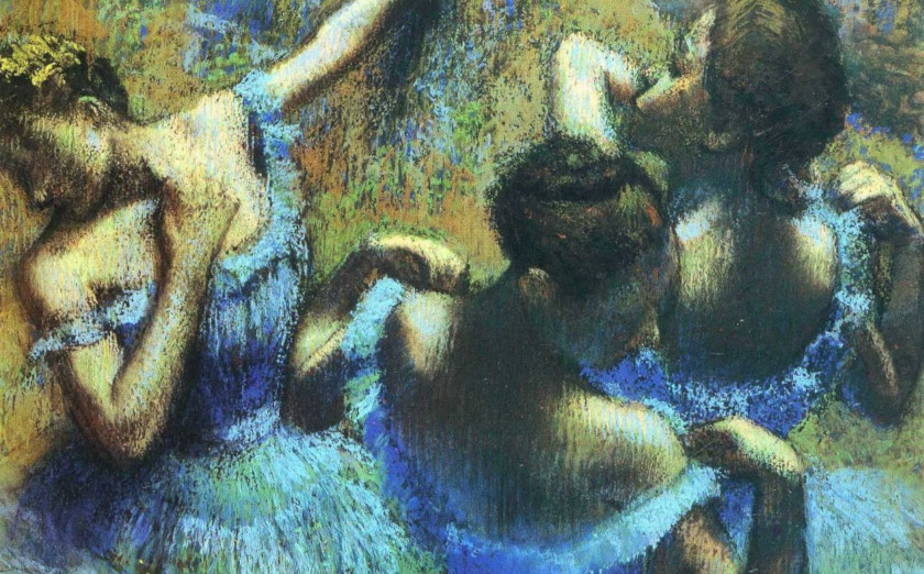 Degas' Blue Dancers