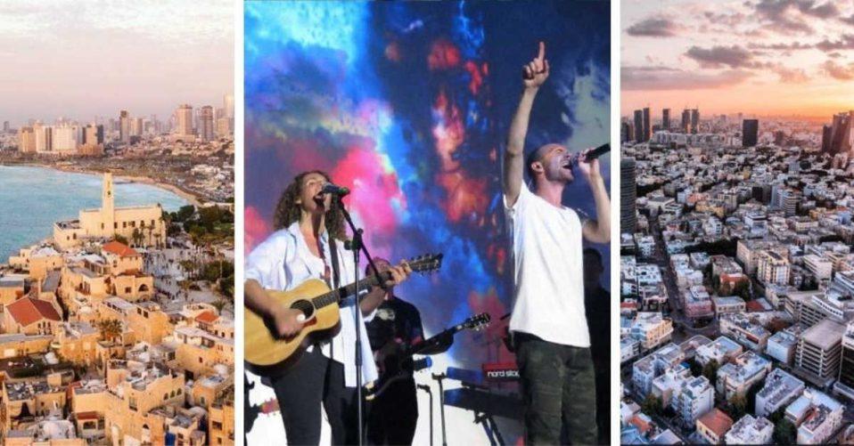 Hillsong Israel worshiping