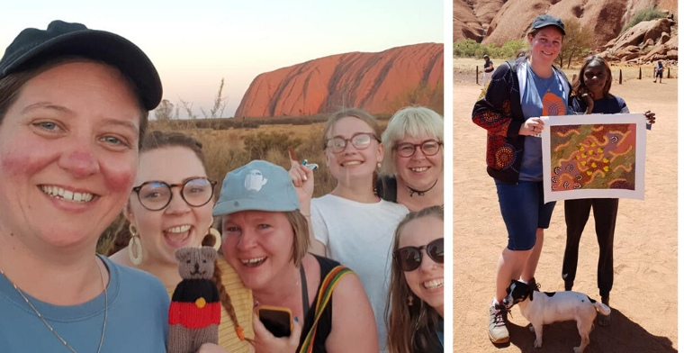 Uluru pilgrimage