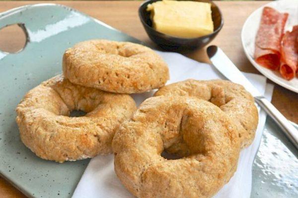 Bagels made by Susan joy's bagel recipe