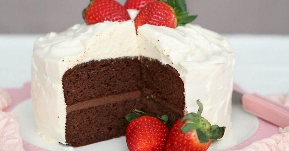 susan joy's chocolate birthday cake