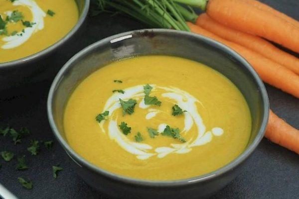 susan joy's creamy carrot soup