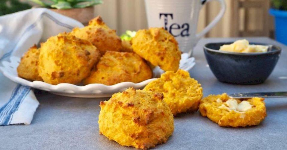 susan joy's paleo pumpkin scones